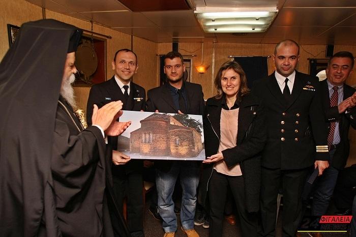 Το Μοναστήρι της Ζούρτσας, ''προστάτης'' σε πλοία του Πολεμικού Ναυτικού