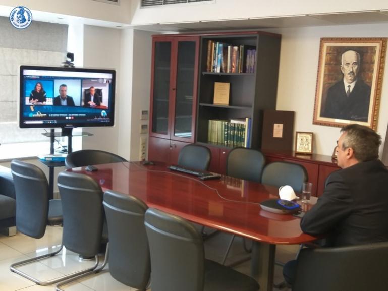 Στο κανάλι της Βουλής φιλοξενήθηκε ο Δήμαρχος Τρίπολης