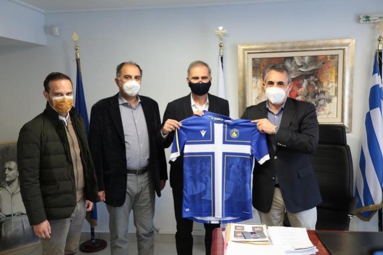 ΕΠΕΤΕΙΑΚΗ ΦΑΝΕΛΑ: Επίσκεψη της Διοίκησης του ΑΣΤΕΡΑ στον Δήμαρχο Τρίπολης
