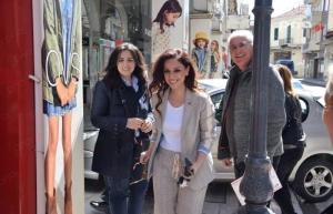 Επίσκεψη της υποψήφιας Ευρωβουλευτή του ΣυΡιζΑ κ. Χρηστίδου στην Τρίπολη