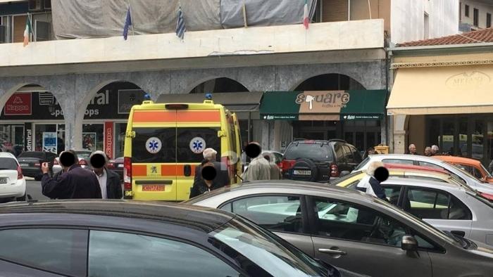 Άντρας έχασε τις αισθήσεις του μέσα σε κατάστημα τράπεζας στην πλατεία αγίου Βασιλείου στην Τρίπολη (pics)