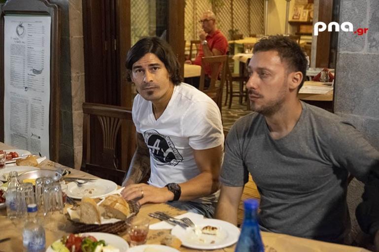 Δείπνο στην Τρίπολη ο Ισμαέλ Μπλάνκο