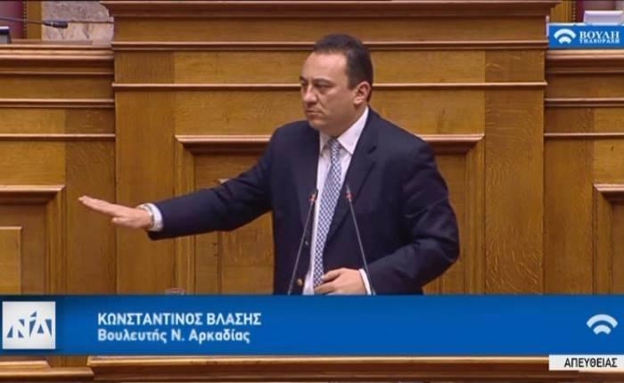 Ομιλία Κώστα Βλάση στη Βουλή για τον προϋπολογισμό του 2019
