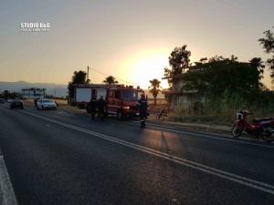 Αργολίδα: Σοβαρό τροχαίο ατύχημα στην παραλιακή Ναυπλίου Νέας Κίου
