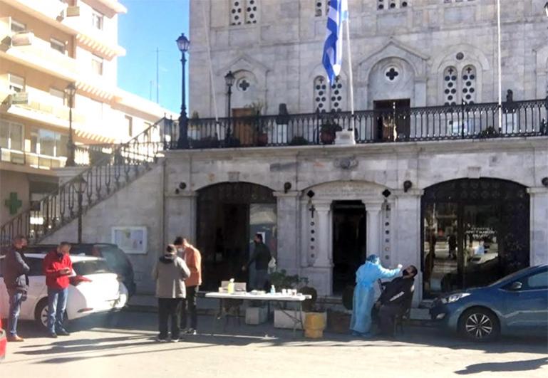 Τρίπολη: Λόγω αυξημένης προσέλευσης στα rapid test και αύριο 09/02 κλιμάκιο στην πλατεία Αγίου Βασιλείου