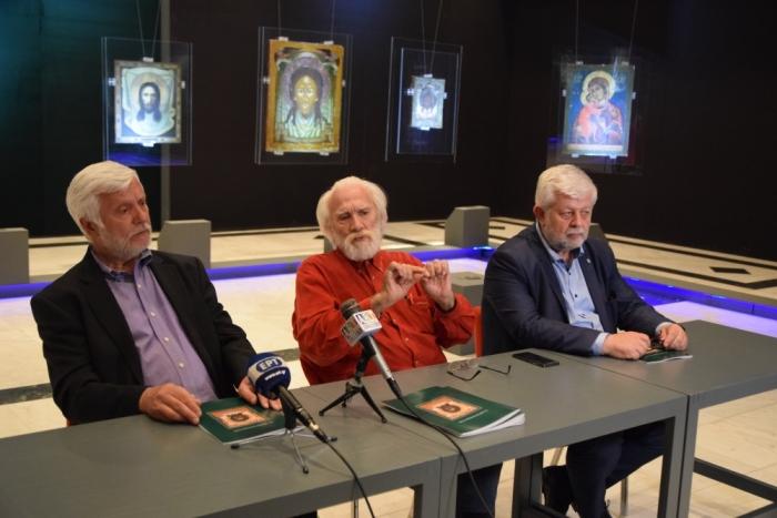 Έκθεση ρωσικών εικόνων με κεντρικό θέμα το Ιερόν Μανδήλιον στην Τρίπολη (video - pics)