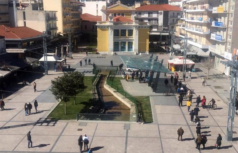 Τρίπολη: Rapid tests στην πλατεία Πετρινού καθημερινά