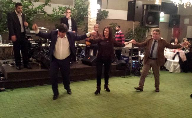 Γλέντι και χορός στην κοπή της πίτας των εργαζόμενων της Π.Ε Αρκαδίας (pics/video)