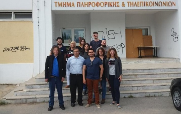Εκπαιδευτική επίσκεψη του Δ.ΙΕΚ Άργους στοΠανεπιστημίου Πελοποννήσου
