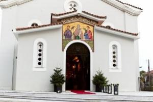 Υποδοχή των Αχράντων Παθών του Κυρίου στον Προφ. Ηλία Τρίπολης