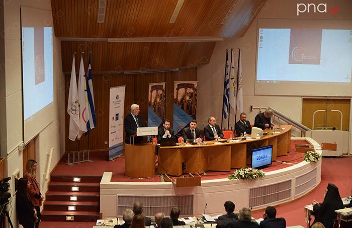 Ξεκίνησε το 1ο Αναπτυξιακό Συνέδριο Πελοποννήσου στην Αρχαία Ολυμπία (video - pics)