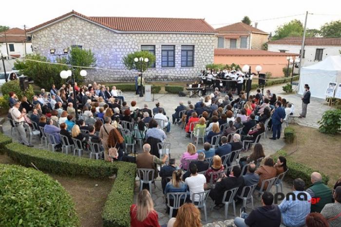 """Εκδήλωση με θέμα """"Διαδρομές πολιτισμού. Το Αρχαιολογικό Μουσείο Τεγέας συναντά τη Βουλή των Ελλήνων"""" παρουσία του Πρόεδρου της Βουλής"""