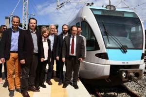 Ξεκινά η κατασκευή του προαστιακού για Λουτράκι - Ξανά στις ράγες το τρένο από Κιάτο προς Αίγιο (video)