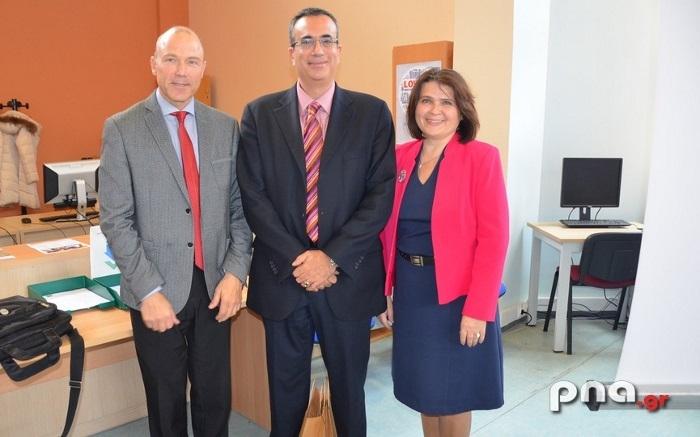 Επίσκεψη και ομιλία στο Τμήμα Οικονομικών Επιστημών από τους πρέσβεις Τσεχίας και Σλοβακίας (video - pics)