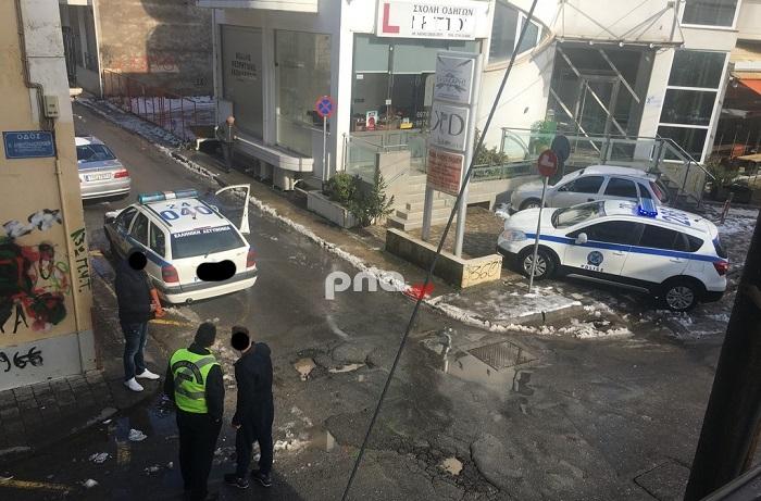 Τρίπολη | Τροχαίο με τραυματισμό στο σταυροδρόμι της οδού Δημητρακοπούλου και Σπετσεροπούλου