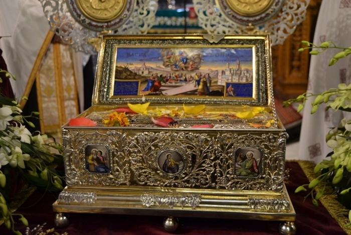 Στην Τρίπολη η Αγία Ζώνη της Παναγίας από το Άγιο Όρος (video)