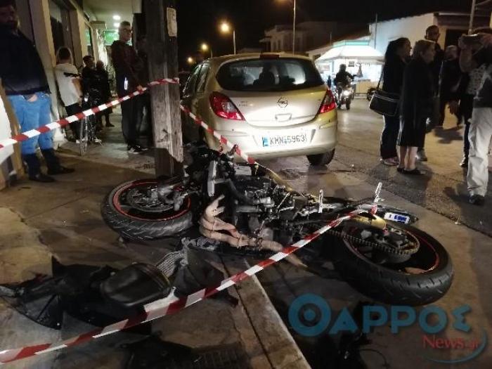 28χρονος σκοτώθηκε σε τροχαίο στην οδό Αθηνών στην Καλαμάτα