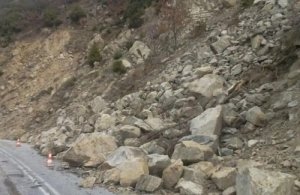 Πιστώσεις από το ΠΔΕ για τις κατολισθήσεις στον δρόμο Καλαμάτα – Σπάρτη