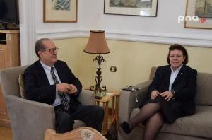 Η Υπουργός Τουρισμού επισκέφθηκε την Περιφέρεια Πελοποννήσου και τον περιφερειάρχη Παναγιώτη Νίκα (video - pics)