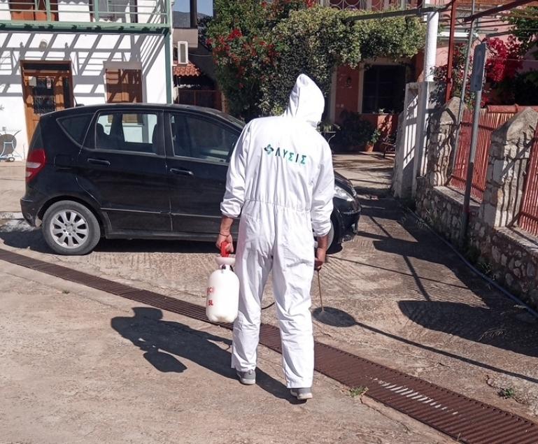 Πραγματοποιήθηκε η 4η εφαρμογή κουνουποκτονίας στον Δήμο Βόρειας Κυνουρίας