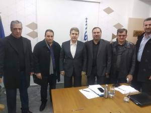 Συνάντηση με Χρυσοχοΐδη είχαν οι πρόεδροι των Αστυνομικών Ενώσεων Πελοποννήσου