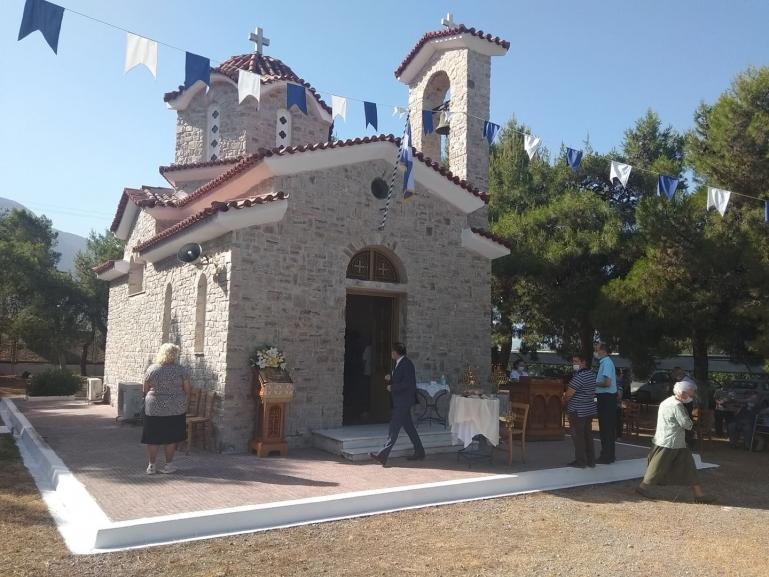Εόρτασε το εκκλησάκι του Ιδρύματος Απόρων Ανιάτων
