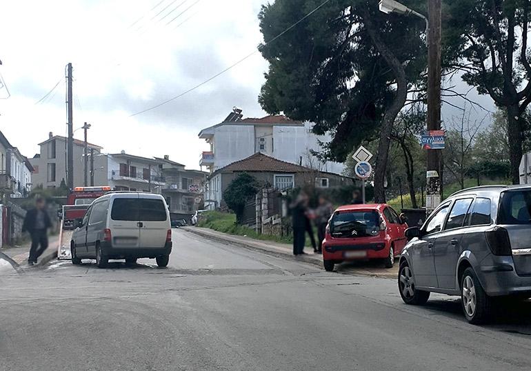 Τρίπολη: Τροχαίο στην οδό Καλαμών πάρα τον περιορισμό κυκλοφορίας