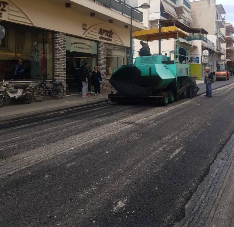 «Βελτίωση οδοποιίας Δήμου Τρίπολης»