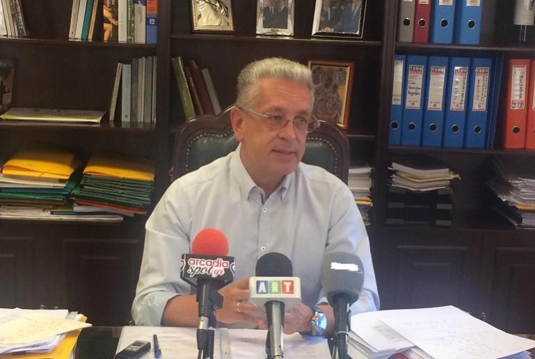 Απαντήσεις Λαμπρόπουλου για την πορεία των έργων της Περιφέρειας Πελοποννήσου (video)