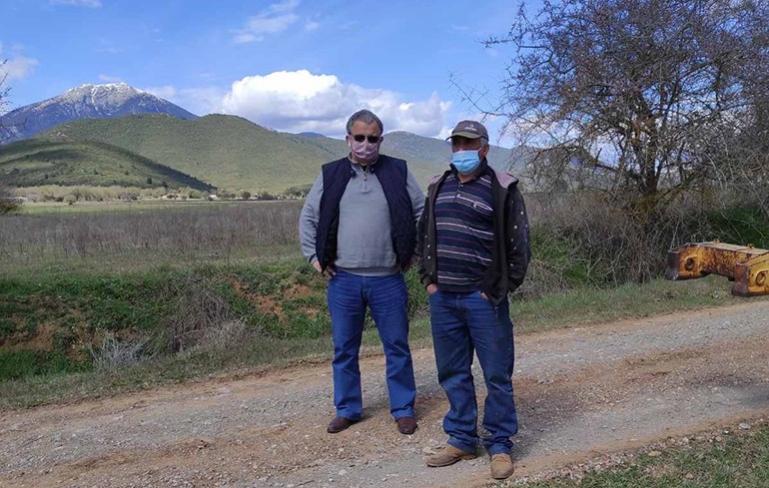 Σε καθαρισμό και συντήρηση αγροτικών δρόμων στις τοπικές κοινότητες Παναγίτσας και Κάψια προχώρησαν συνεργεία του Δήμου Τρίπολης