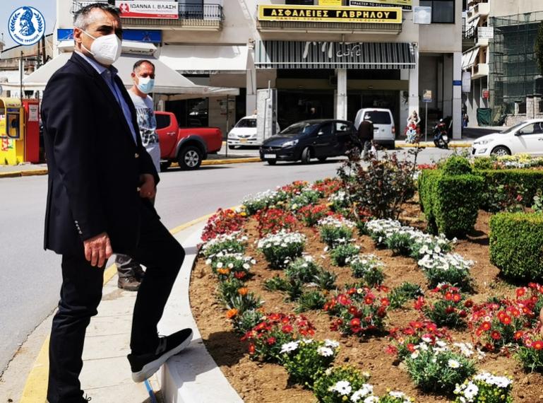 Κώστας Τζιούμης: «Δημιουργούμε εστίες πρασίνου στην πόλη και στα χωριά μας»
