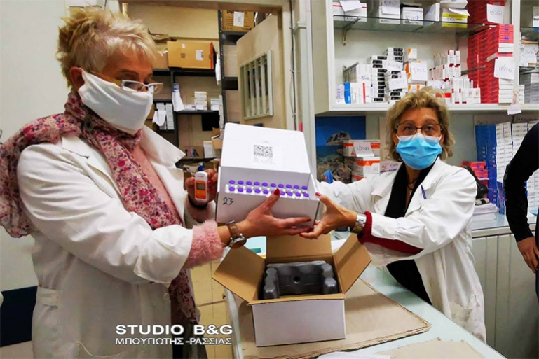 Έφτασαν τα εμβόλια κατά του κορωνοϊού στην Αργολίδα (βίντεο)