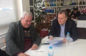 Τα αγροτικά προβλήματα της Ηλείας συζήτησαν Κοντογιάννης – Βαλιανάτος