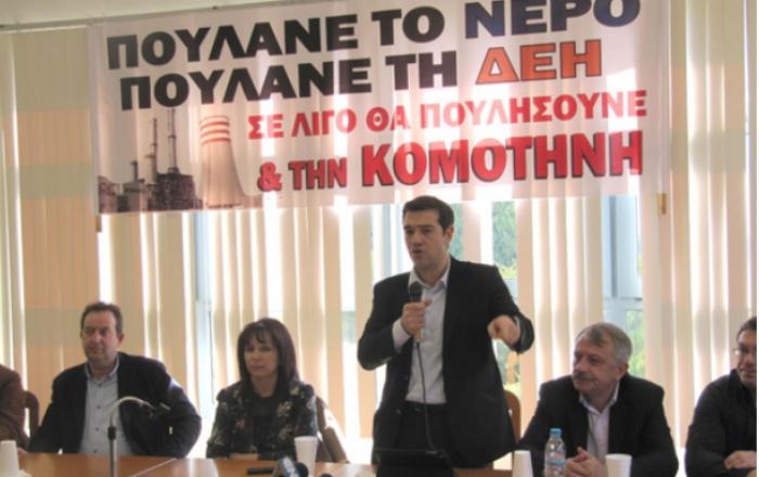 Oδυσσέας Κωνσταντινόπουλος: Σας επιστρέφω το σύνθημά σας: «Καταστρέφετε τη χώρα, φύγετε τώρα!»