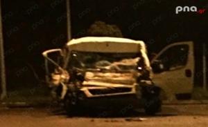 Σύγκρουση οχημάτων στην ΕΟ Τρίπολης - Κορίνθου