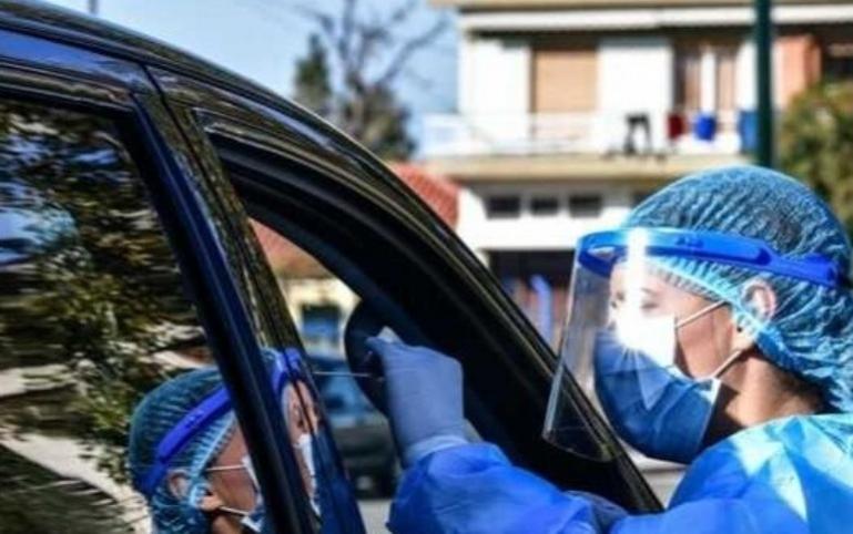 Εντός αυτοκινήτου rapid test το Σαββάτο 09/01 στην Τρίπολη