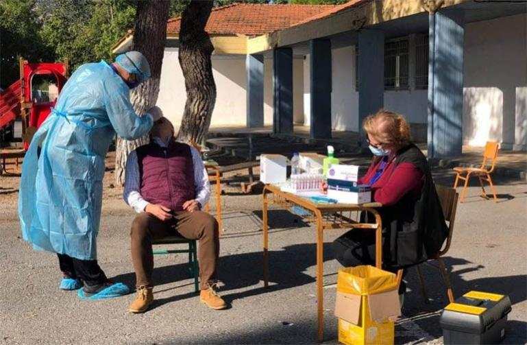 Προληπτικά τεστ για covid σε υπαλλήλους του Δήμου Βόρειας Κυνουρίας