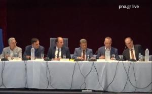 Δείτε ζωντανά την πρώτη συνεδρίαση του νέου Περιφερειακού συμβούλιου Πελοποννήσου