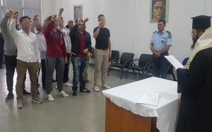 Ορκωμοσία των Ειδικών Φρουρών στις Διευθύνσεις Αστυνομίας της Γενικής Περιφερειακής Αστυνομικής Διεύθυνσης Πελοποννήσου (pics)