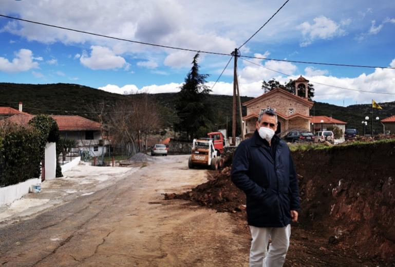 Κώστας Τζιούμης: «Δίνουμε στα χωριά μας την σημασία που τους πρέπει και τους αξίζει»