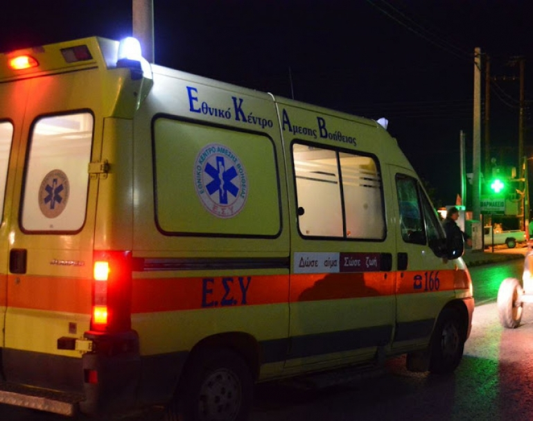 Αργολίδα: Δυο κορίτσια τραυματίες σε σοβαρό τροχαίο με μηχανάκι τη νύχτα στην Λυρκεία