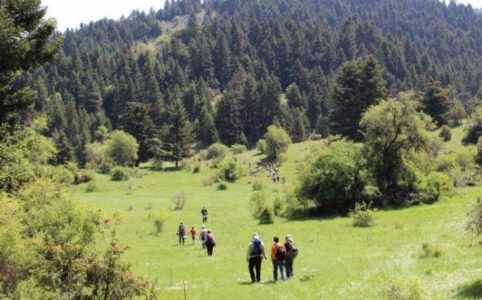 ΣΑΟΟ: Εγκαινιάζεται το μονοπάτι Ροεινό - Αλωνίσταινα