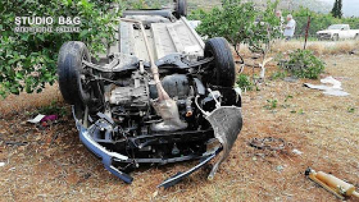 Αργολίδα: Τροχαίο ατύχημα με εκτροπή αυτοκινήτου στο Άργος - Τραυματίας μια γυναίκα