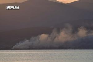 Μεγάλη πυρκαγιά στους Μύλους Αργολίδας (video - pics)