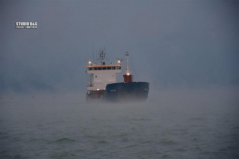 "Sea smoke: Η κακοκαιρία ""Λέανδρος"" προκάλεσε στην Αργολίδα το φαινόμενο της ""θάλασσας που αχνίζει"" (βίντεο)"