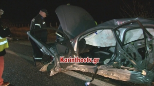 Θανατηφόρο τροχαίο στην εθνική Αθηνών – Κορίνθου – Νεκρός 45χρονος οδηγός (video pics)