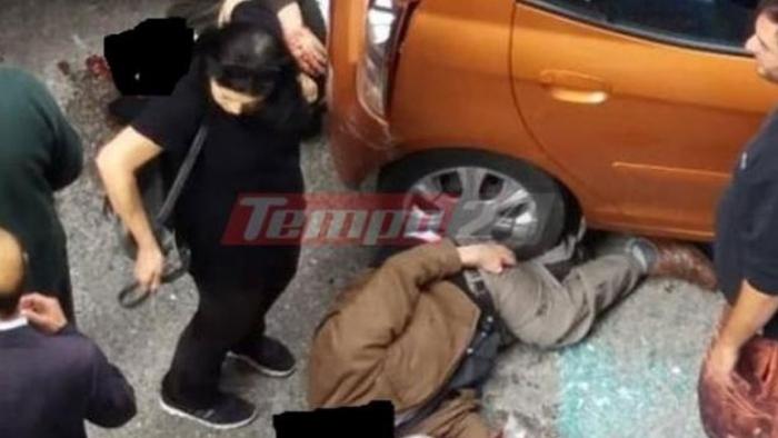 ΠΑΤΡΑ | Όχημα παρέσυρε με την όπισθεν δυο ηλικιωμένους σε λαϊκή αγορά
