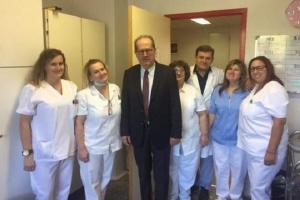 """Περιφερειάρχης Πελοποννήσου: """"Συνεργασία και στήριξη στο Παναρκαδικό Νοσοκομείο"""""""