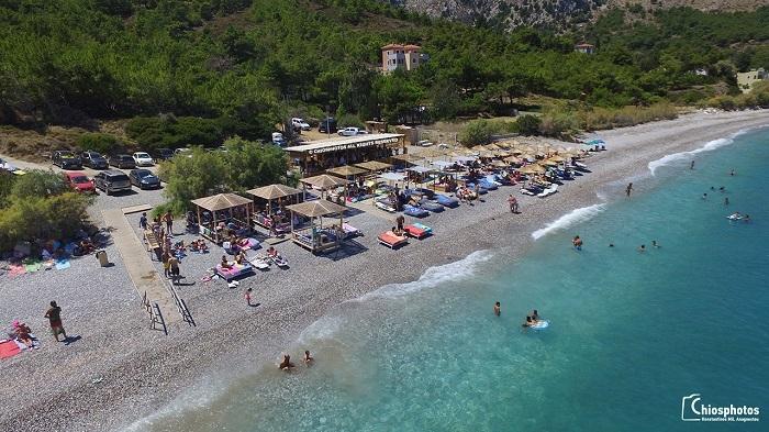 Παραλία Γιόσωνας: Η μαγευτική παραλία στη ΒΑ Χίο μήκους 1 χλμ (vid & photo)