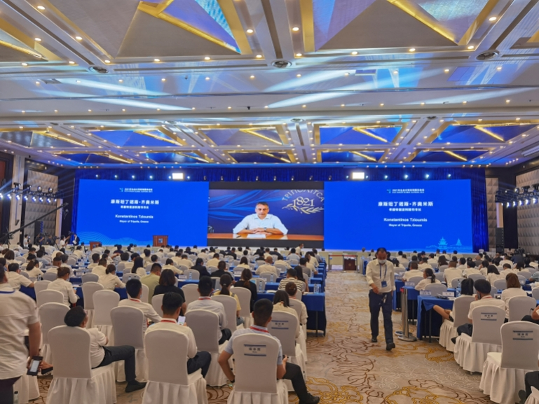 Μνημόνιο συνεργασίας του Δήμου Τρίπολης με το Δήμο Guiyang της Κίνας